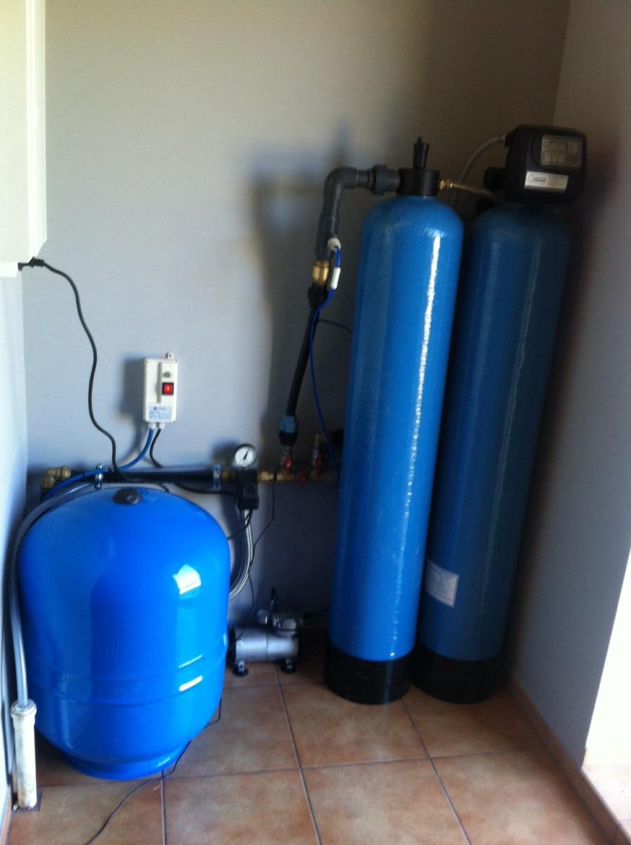 Hidroforas ir vandens filtras